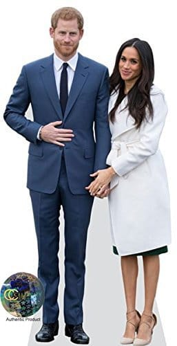 Prince Harry And Meghan Markle Life Size and Mini Cutouts