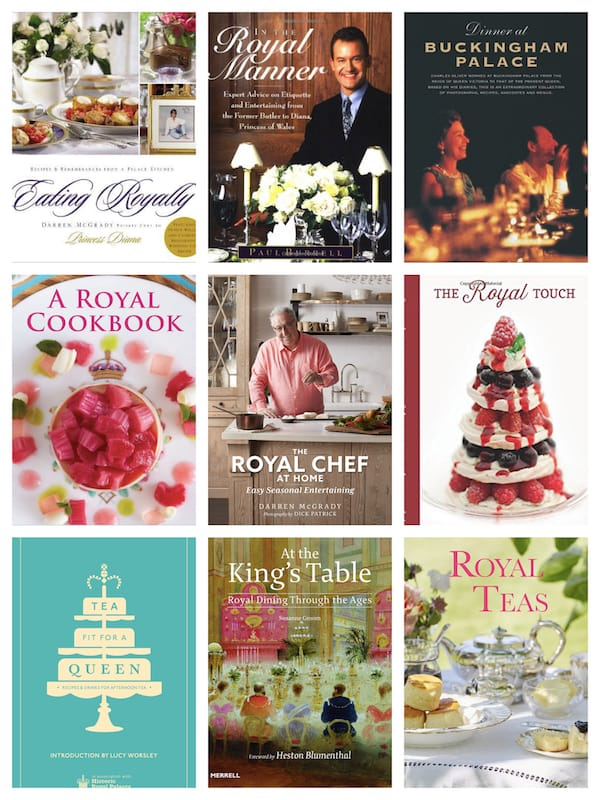 Eating Royally - Royal Cookbooks