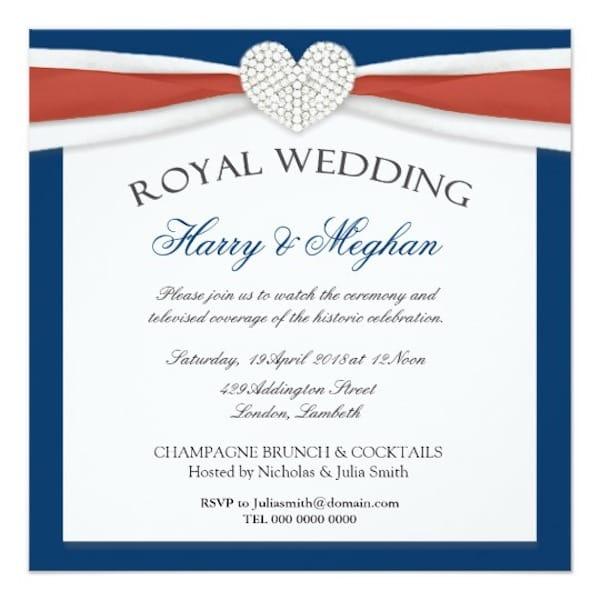 Royal Wedding Viewing Party Invitations