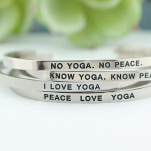 Yoga bracelets holiday gifts for yogis