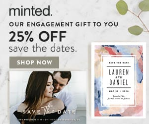 25 OFF MINTED SAVE THE DATES