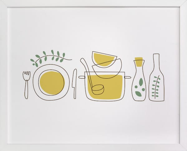 Making Soup Cooking With Spices and Herbs Art Print