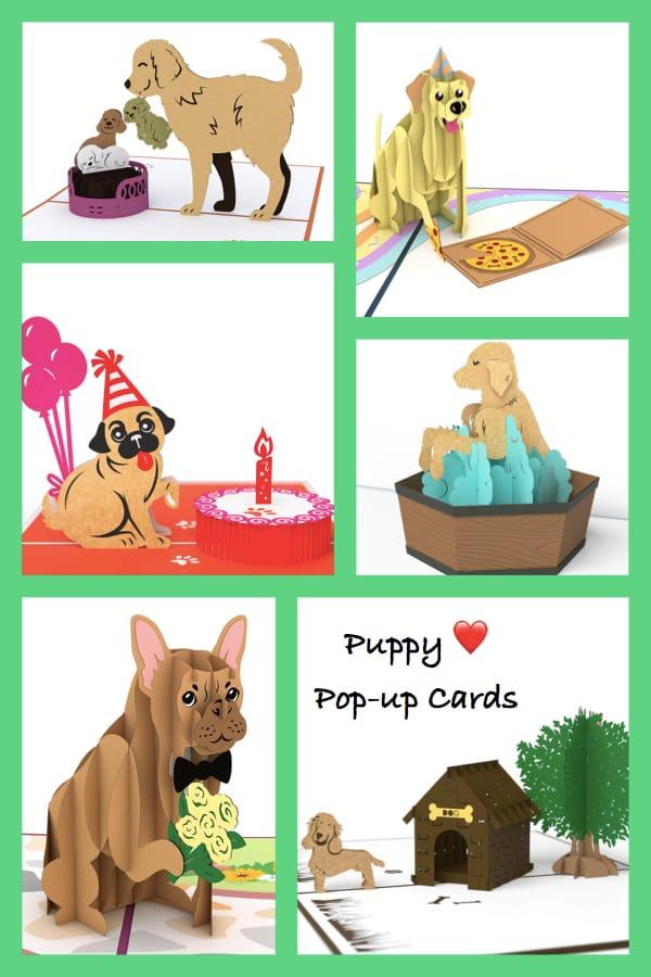Puppy Love Pop-Up Cards