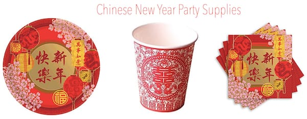 Chinese New Year Party Supplies