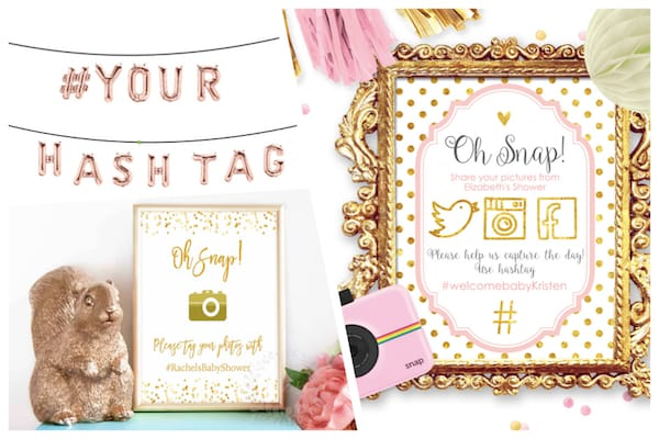 Baby Shower Hashtags