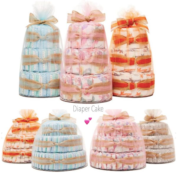 Diaper Cake Love