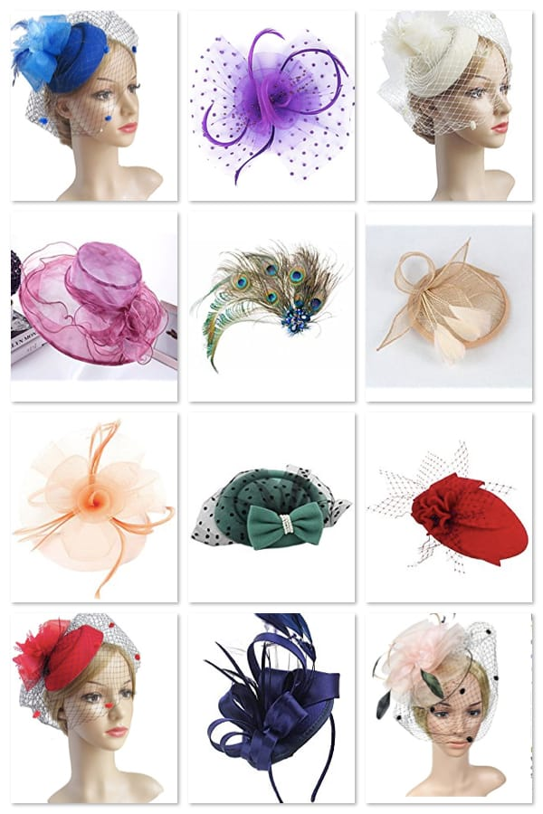Fascinators for Royal Wedding Viewing Party