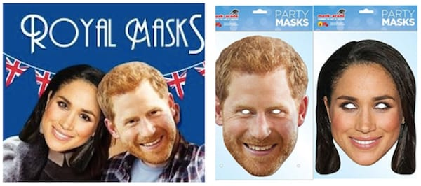 Royal Wedding Masks Harry and Meghan