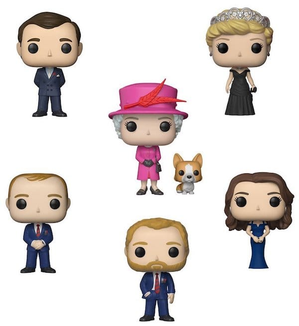 Royals Figures Toy Set