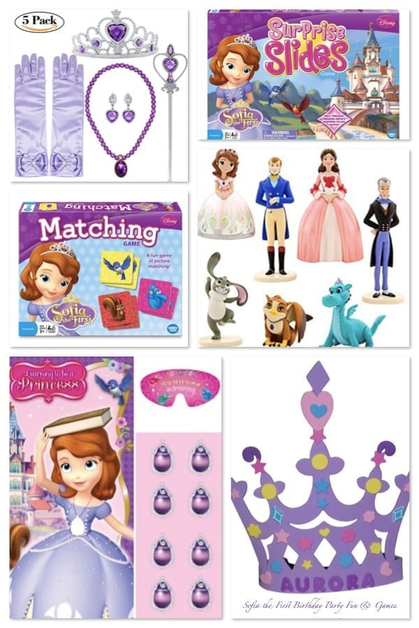 Sofia the First Birthday Party Fun and Games