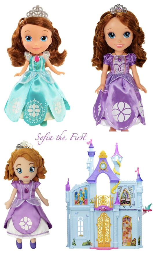 Sofia the First Dolls & Dollhouses