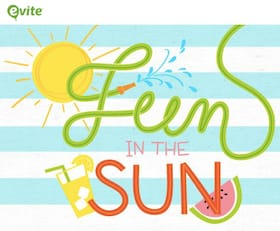 Evite Summer Fun Invitations